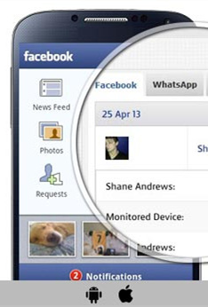Monitor Facebook with Mobile Spy
