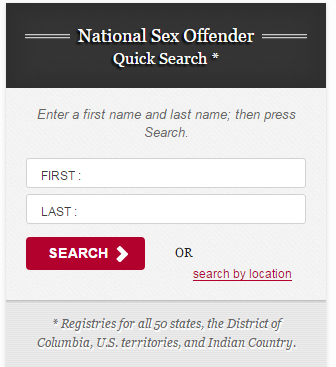 National Sex Offender