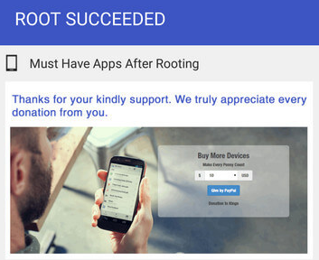 Root Succeeded